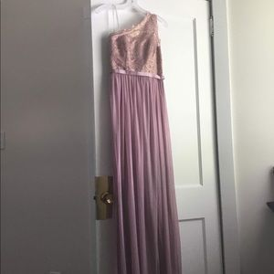 Long, elegant dress
